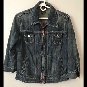 Lucky Brand Denim Jean Jacket size L